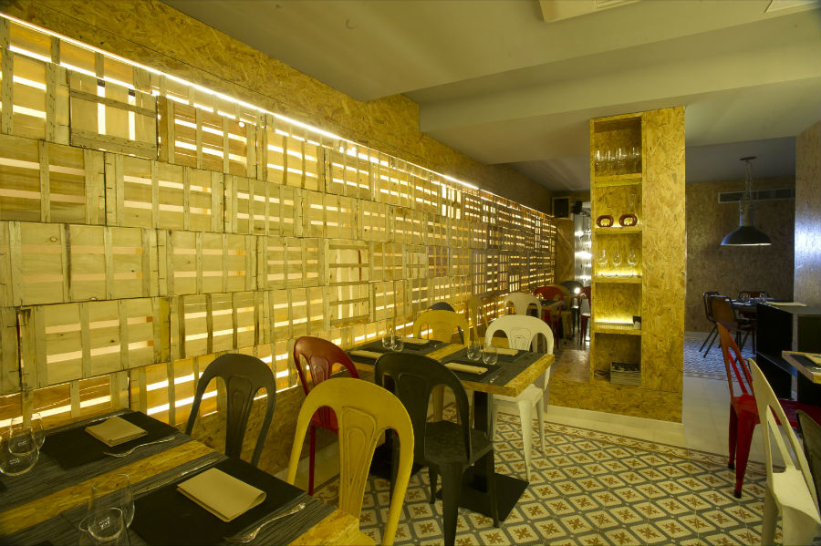 Vi cool calle huertas 12 madrid - Restaurante sergi arola madrid ...