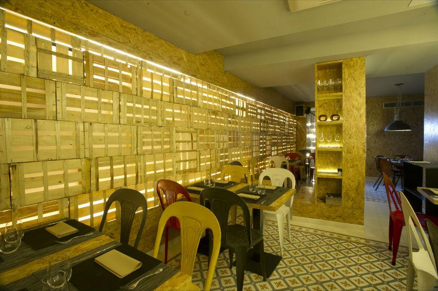Vi cool calle huertas 12 madrid for Restaurante sergi arola madrid