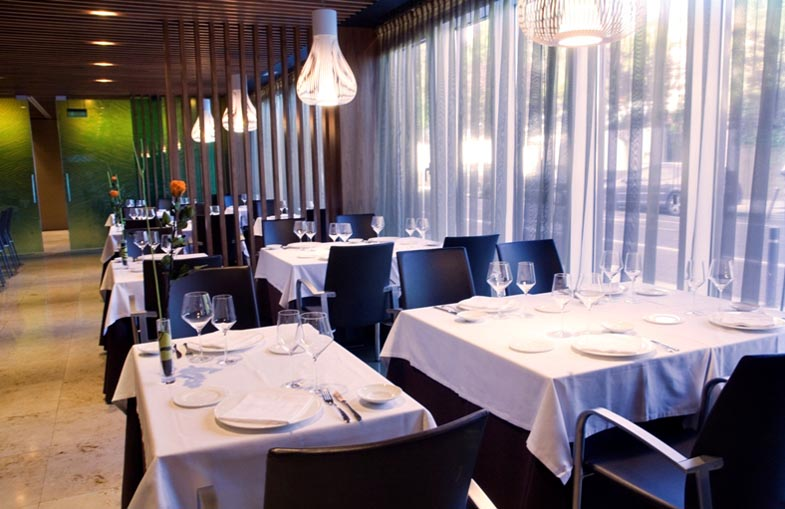 Restaurante arimendi en jardines de uleta calle uleta 1 for Jardines de uleta