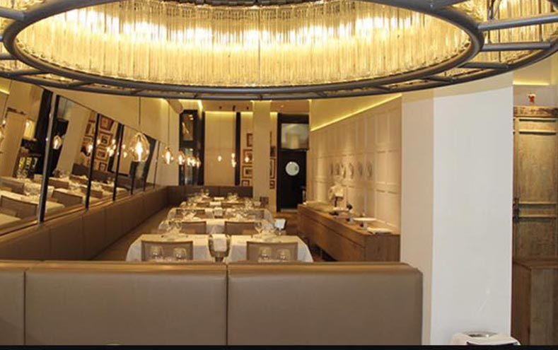 Restaurante Zapirain Bilbao Interiores