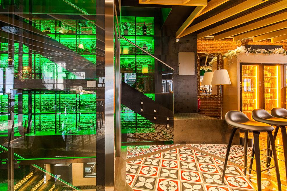 La máquina de Jorge Juan, restaurante, ocio, madrid, acojonante